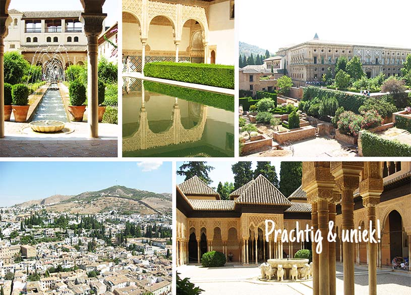 Collage Alhambra
